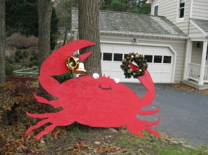 Crabby the Christmas Crab
