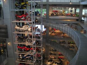 Being a travel memoir, I also make room for some of the sights and sounds of the road, including my visit to the Barber Vintage Motorsports Museum outside Birmingham. Trust me, the visit advances the narrative line in multiple ways! (And it was fun.)