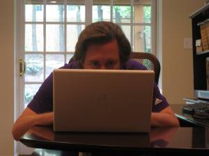 Patrick! Stop checking your tweets and get back to that manuscript!