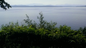 Vermont's Lake Champlain, my escape after graduation. I've fallen in love with it, to the consternation of my wife, who would prefer me lust after a body of water a bit closer to northern Virginia.