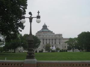 The Jefferson Building of the Library of Congress. Think of a library as an all-you-can-eat business model for books.