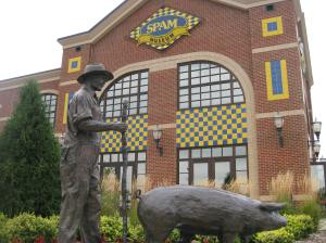 One highlight of my time in Minnesota was a visit to the Hormel Spam Museum; unfortunately it is a bit of a haul from Minneapolis.