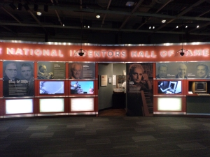 Interactive displays of some of the 2013 NIHF inductees.