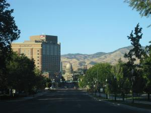 I found Boise, Idaho, to be a delightful oasis after a long drive through a barren desert.