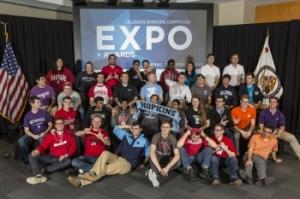 2014 Collegiate Inventors Competition finalists (photo courtesy USPTO, Amando Carigo)